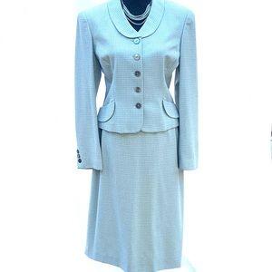 Liz Claiborne Vintage Wool Women's Dress Suit 8